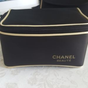 Chanel Cosmetic Travel Bag.